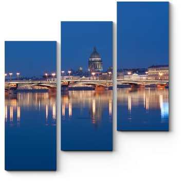 Модульная картина Петербург