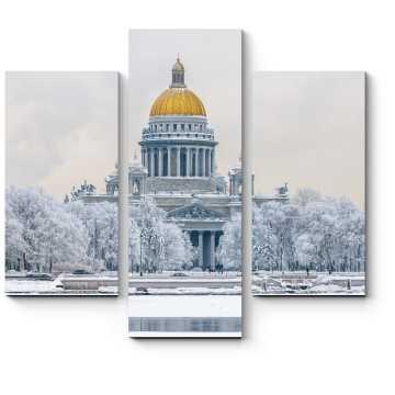 Модульная картина Зимний Петербург