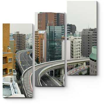 Жилые многоэтажки Токио