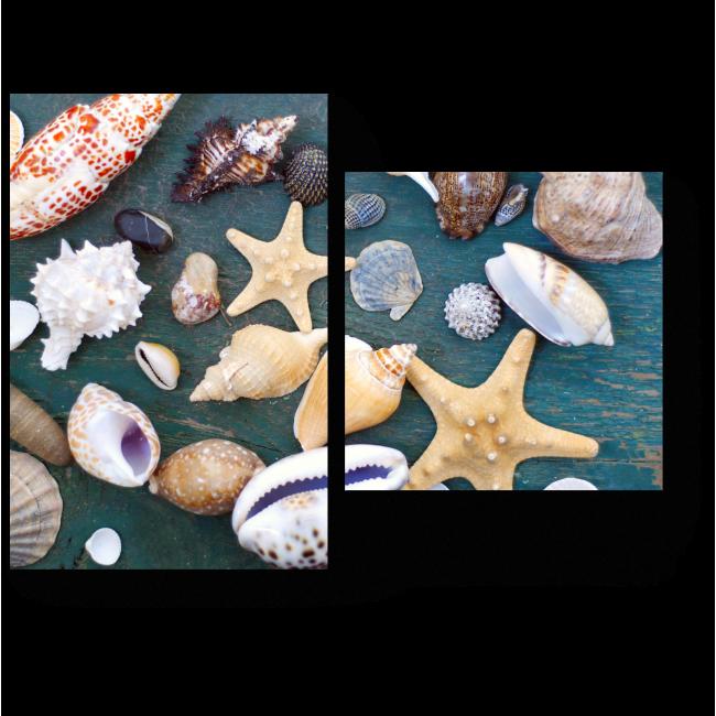 Модульная картина Дары океана