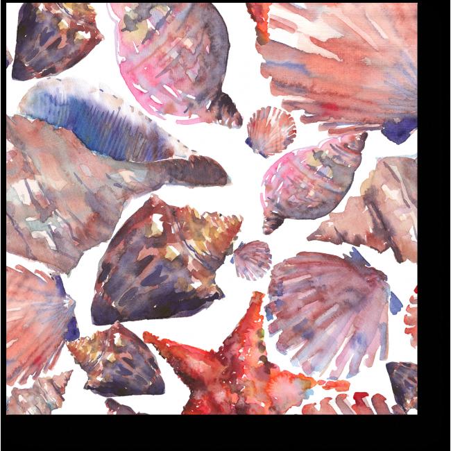 Модульная картина Чудесные морские жители