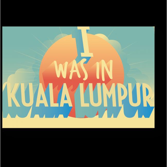 Модульная картина Привет из Куала-Лумпур