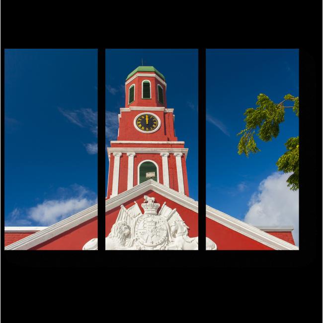 Модульная картина Где-то на солнечном Барбадосе