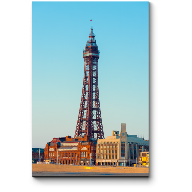 Модульная картина Ланкаширская башня, Англия