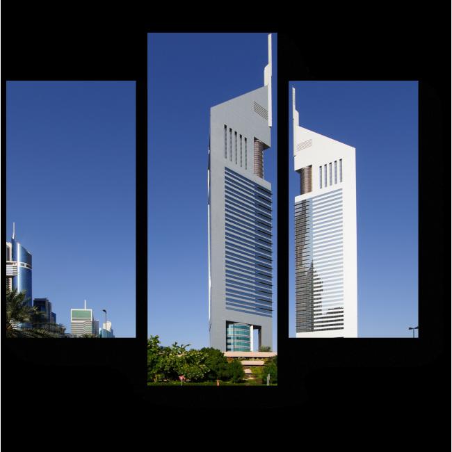 Модульная картина Роскошный отель в Дубае