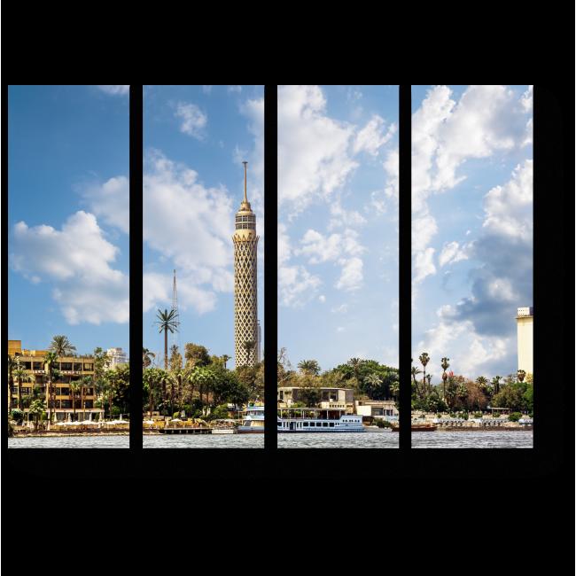 Модульная картина Египетская ривьера
