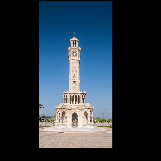 Модульная картина Измирская часовая башня в Турции