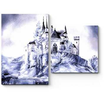 Фантастический сказочный замок