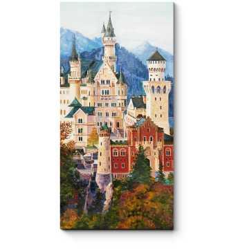 Живопись замка Нойшванштайн в Баварии