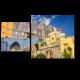 Красочный замок Синтра в Португалии