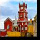 Романтический замок в Португалии