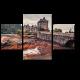 Замок Эйлен Донан в Шотландии в закате
