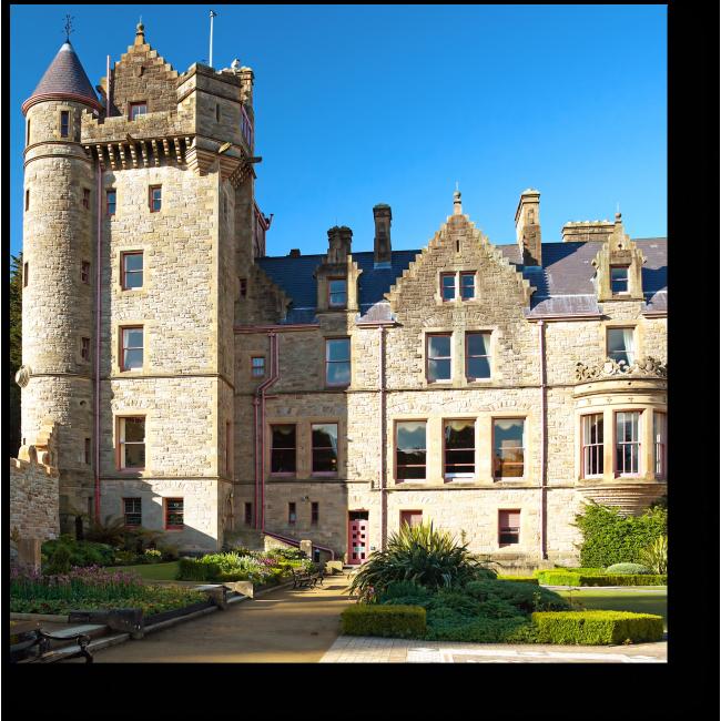 Модульная картина Замок Белфаст в Северной Ирландии
