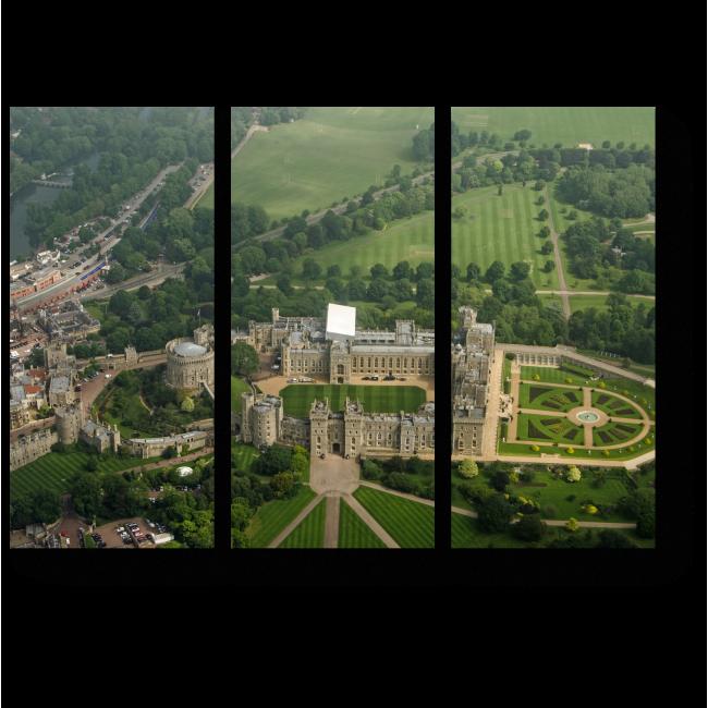Модульная картина Виндзорский замок