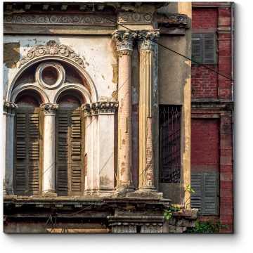 Модульная картина Неоклассическое старинное здание