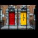 Красочные двери в Килкенни