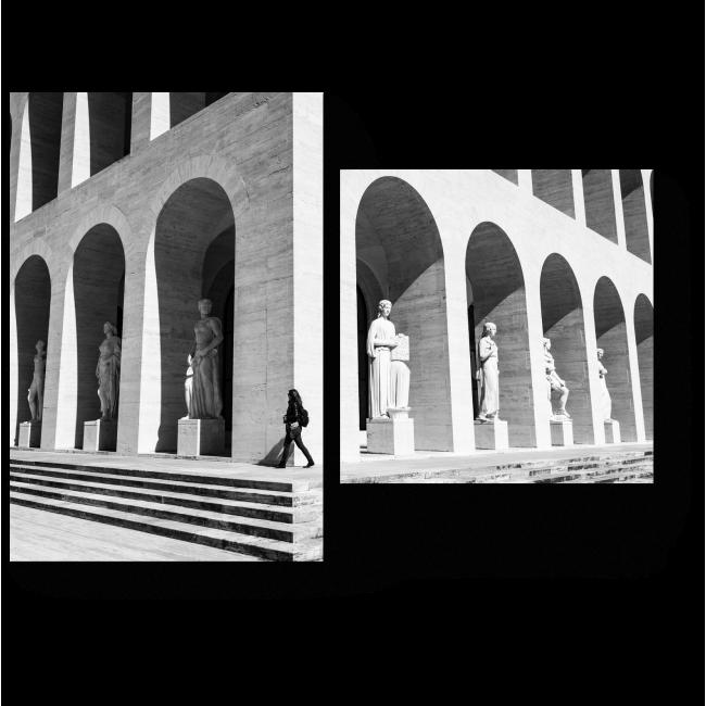 Модульная картина Дворец итальянской цивилизации