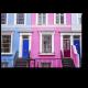 Красочные дома в Ноттинг-Хилл