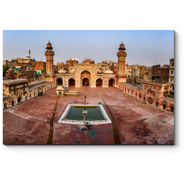 Модульная картина Мечеть Вазир-хана в Лахоре