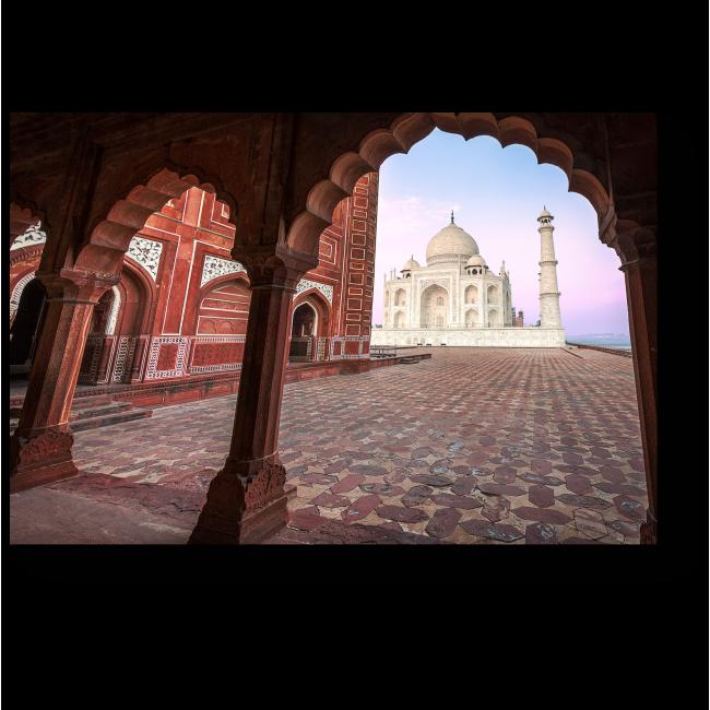 Модульная картина Индийский дворец Тадж-Махал