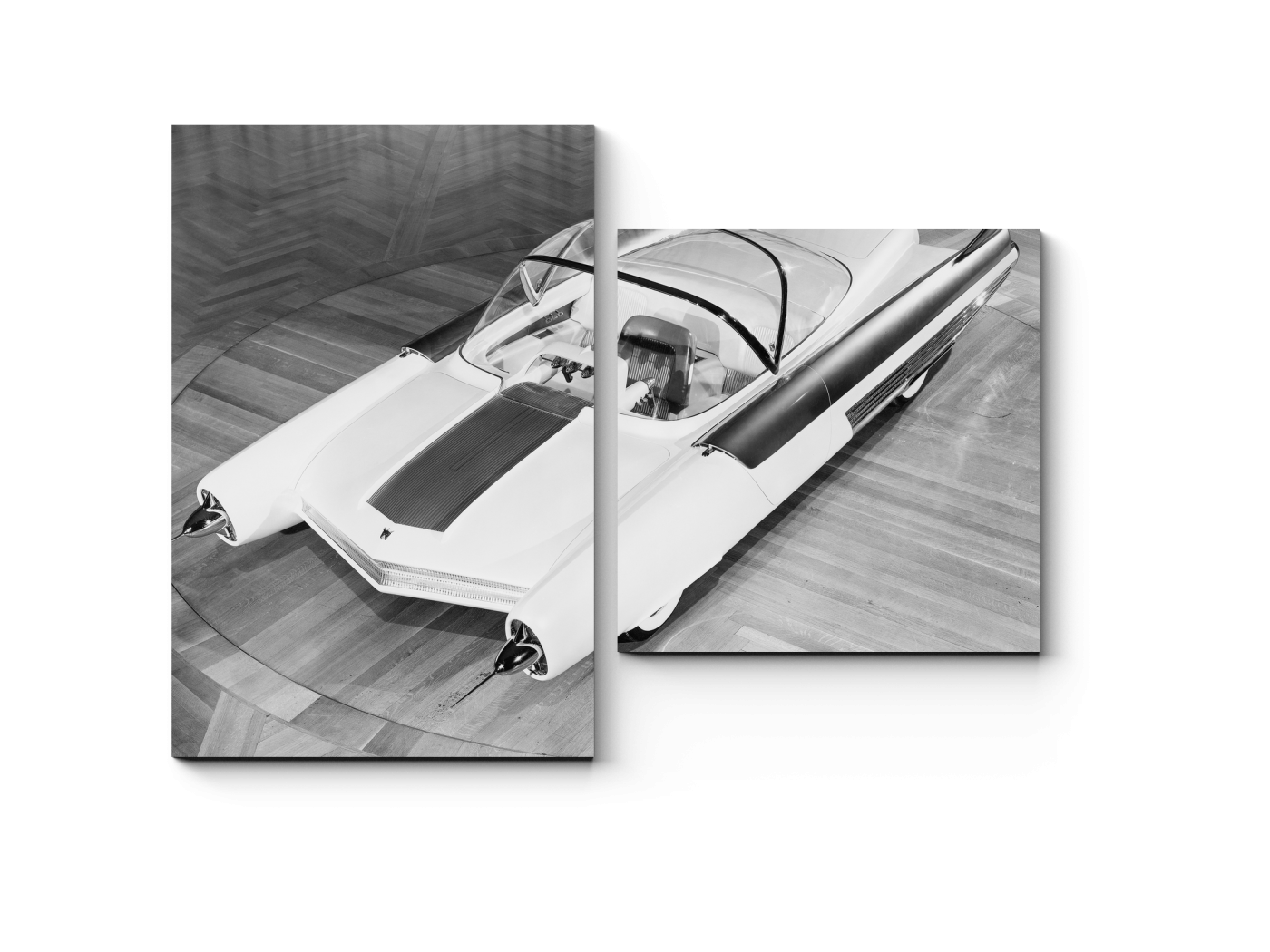 Модульная картина Футуристический автомобиль (40x30) фото
