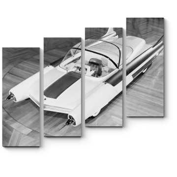 Модульная картина Футуристический автомобиль