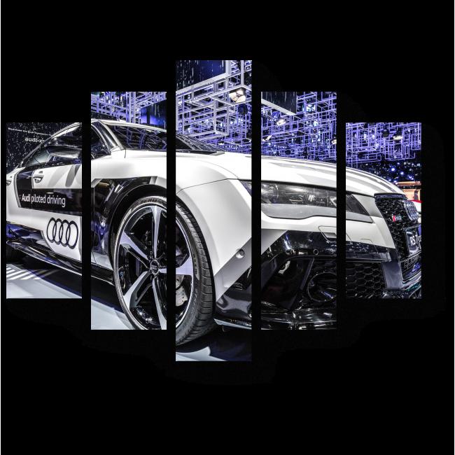 Модульная картина Audi S7 в Париже
