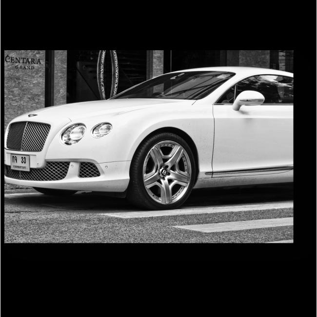 Модульная картина Британский роскошный автомобиль Bentley
