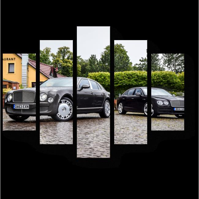 Модульная картина Bentley Mulsanne