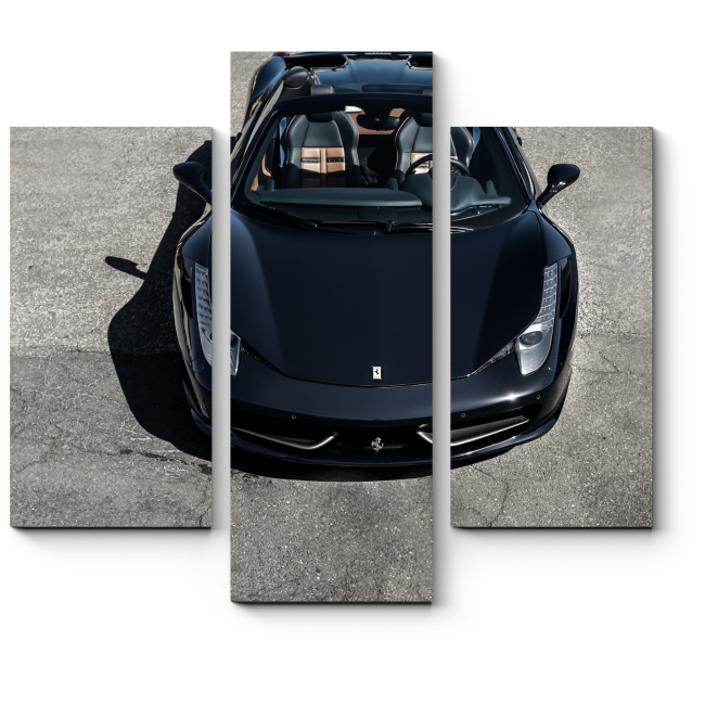 Модульная картина Ferrari 458 Spider