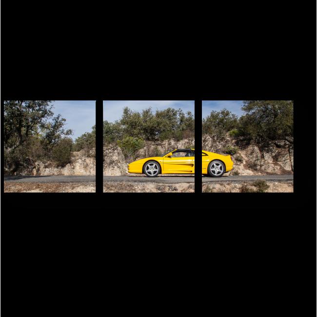 Модульная картина Феррари F355GTS