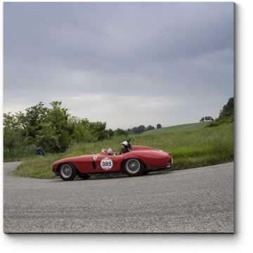 Модульная картина FERRARI 750 Monza Spider Scaglietti 1955