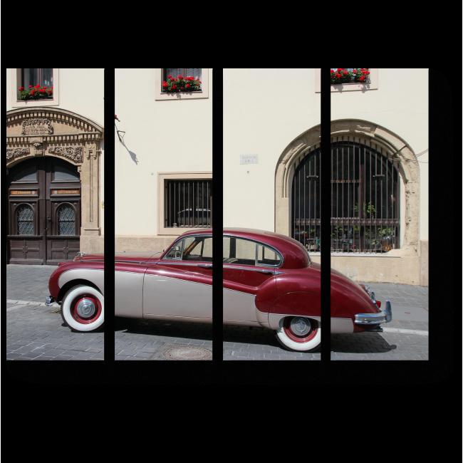 Модульная картина Classic Jaguar Mark IX