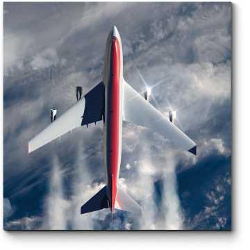 Модульная картина  Самолет летать