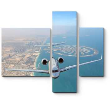 Пролетая над Дубаем