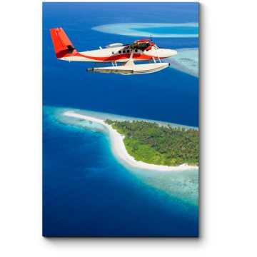 Летающий над Мальдивами