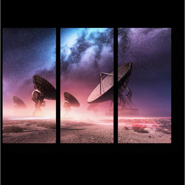 Модульная картина Обсерватория Вселенной