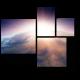 Захватывающий закат над Землей