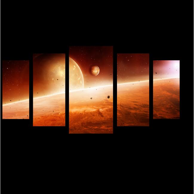 Модульная картина Завораживающий восход солнца