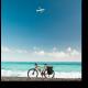 Велосипед у океана