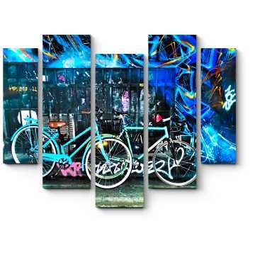Велосипеды и граффити
