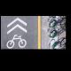 вывеска с парковкой для велосипедов