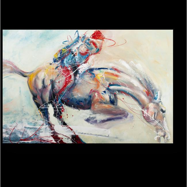 Модульная картина Лошадь галопом
