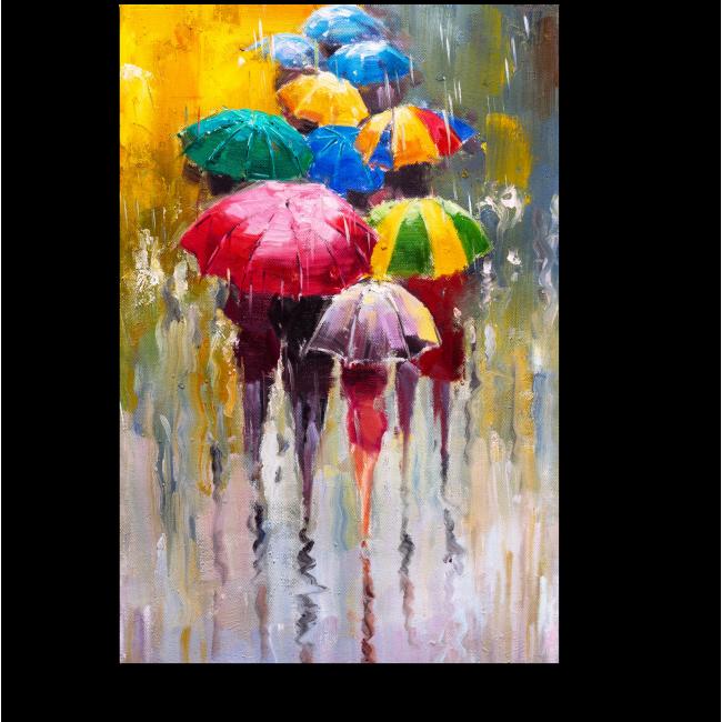 Модульная картина Дождливый день