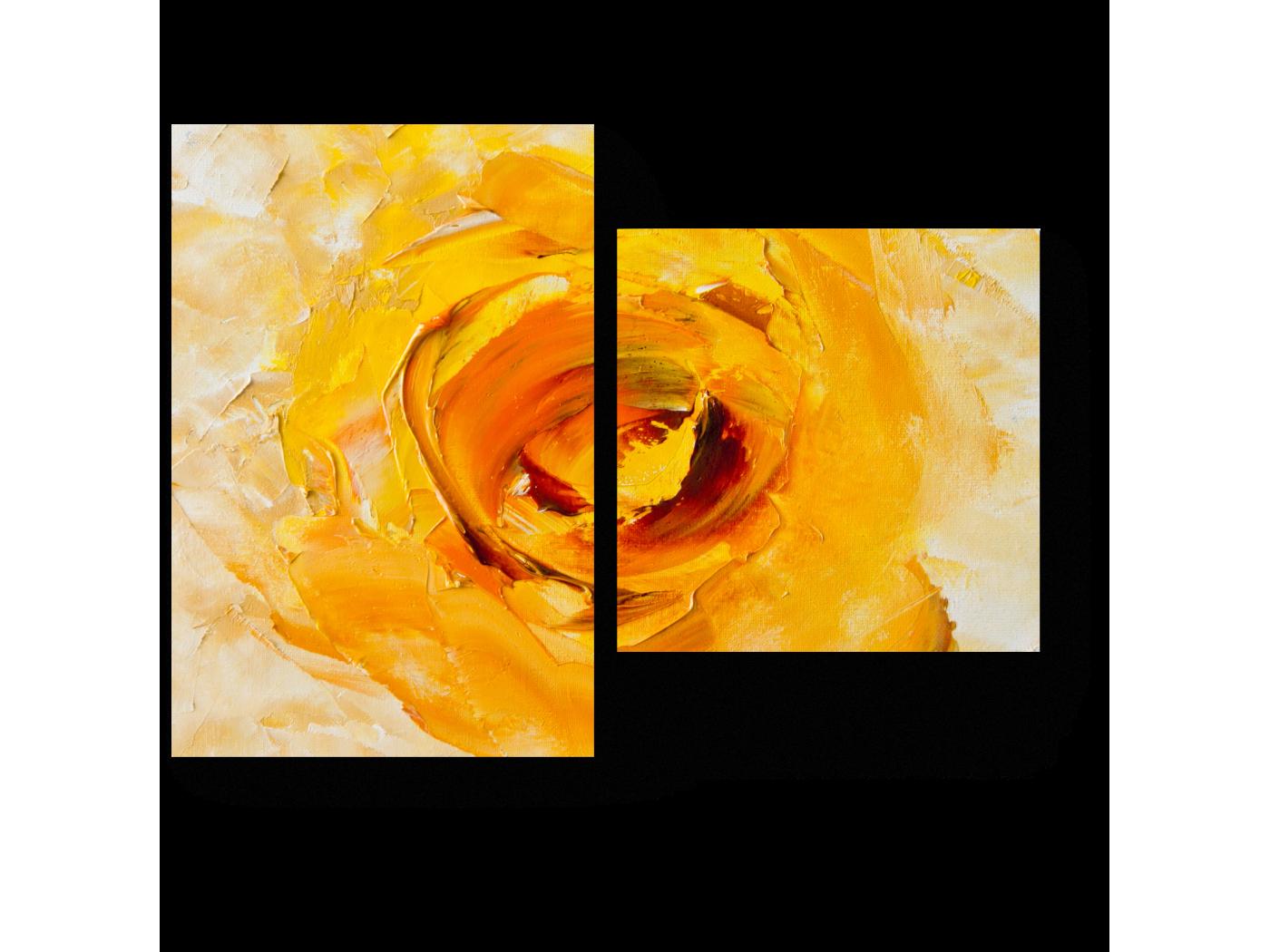 Модульная картина Желтая Фантазия (40x30) фото