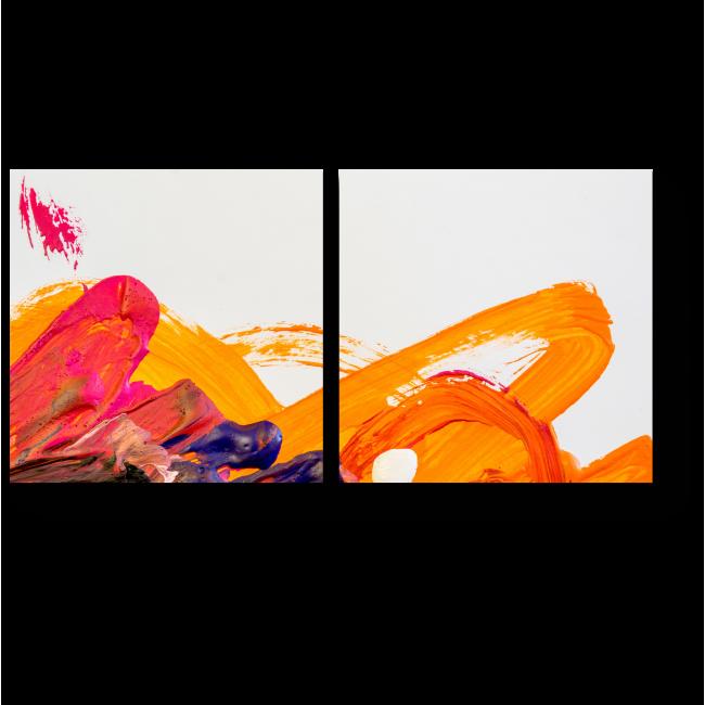 Модульная картина Абстрактная живопись