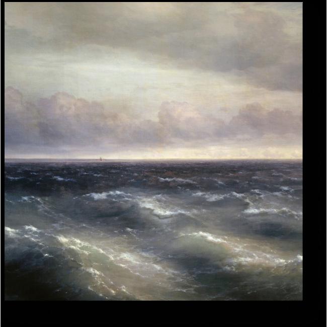 Модульная картина Черное море
