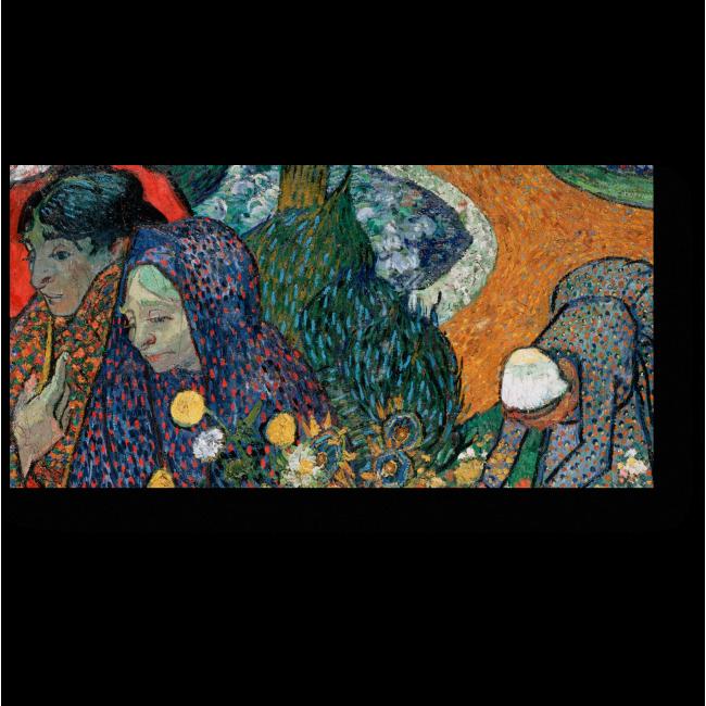 Модульная картина Воспоминание о саде в Эттене (Арлезианки)