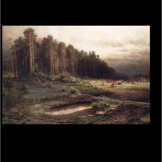 Модульная картина Лосиный остров в Сокольниках