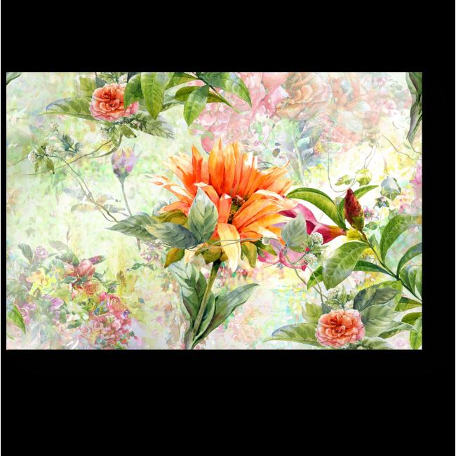Модульная картина Тропические растения